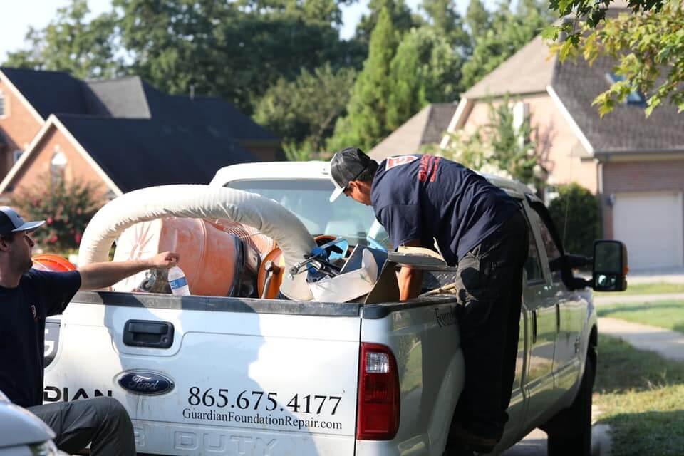Guardian Foundation Repair crew