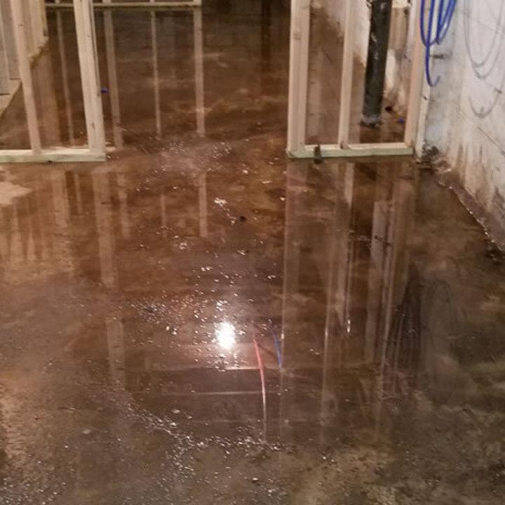 Basement Water Damage - Guardian Foundation Repair